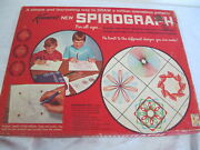 Vintage Kenners Spirograph 1967 With Board And Booklet Missing Pens And 1 Piece