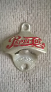 Opener Starr X Pepsi Cola Embossed Letters Made In U.s.a. Vintage
