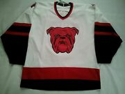 Vintage Rare Made In Canada Ccm Red Bull 1 Beer Hockey Style Jersey Size Xl