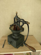Coffee Grinder Antique Peugeot Aines Old Crank Kaffee Caffandegrave Century Machine Mill