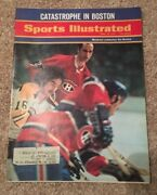 2 Boston Bruins Sports Illustrated March 29 And April 26 1971 Chicago Blackhawks