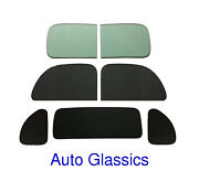 1939 Plymouth P7 Business Coupe Classic Auto Glass Kit New Flat Windows Vintage