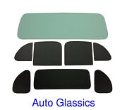 1937 Plymouth P4 Business Coupe Classic Auto Glass Kit New Flat Windows Vintage