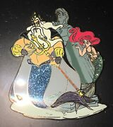 Little Mermaid Ariel Disney D23 Expo Event 2017 Designer Doll Collection Pin