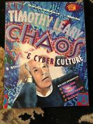 Chaos And Cyber Culture• By Timothy Leary• 1st Edition 1st Printing 1994• Book