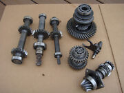John Deere F1145 Differential Gears And Final Pinion Shafts