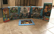 Disney Pixar Toy Story 6 Pc.collection Woody Buzz Lightyear Jesse Space Explore