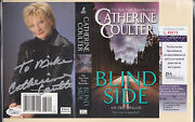 Catherine Coulter Signed Book Cover Jsa Coa Auth Auto Autograph Blind Side A