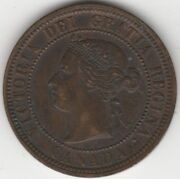 1876h Canada Victoria One Cent Coin | World Coins | Pennies2pounds