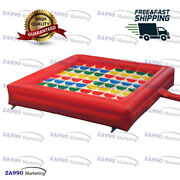 15x15ft Commercial Inflatable Twister Funny Family Sport Game With Air Blower