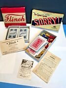 Sorry By Parker Brothers Usa 1934-1939 First Original The Great Game And Flinch