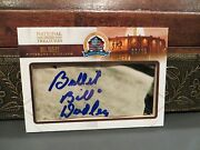 National Treasures Autograph Hof Fifty Years Steelers Bill Dudley 09/23 2013