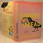 Gingerbread, Helen Oyeyemi, Signed Title Page, 1st/1st, New