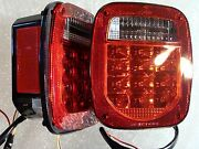 Tj Cj Yj Mj Lj Led Tail Lights Includes Both Right And Left Side Pair