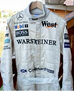 David Coulthard Personal F1 Suite Mclaren Very Rare Sparco Product To Mclaren