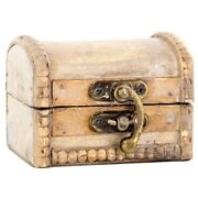 Small Dome Trunk Box.vintage Look Cute Accent To Home Or Office.