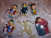 Charles Dickens A Christmas Carol Disney Key Chain Figures And Queen Lucy Peanuts