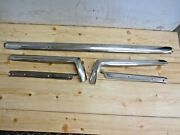 1963 - 64 Vintage Chevrolet Impala Convertible Top Exterior Windshield Trim