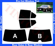 Pre Cut Window Tint Bmw 7 Series E38 4d 94-01 Rear Window And Rear Sides Any Shade