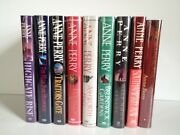 Anne Perry 9 First Edition/first Print Run Hardcover Books 1991-2002 Collection