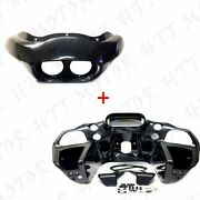 Us Stock Unpainted Inner And Outer Headlight Fairing For Harley Fltr Road Glide