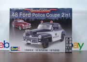 Ford 1948 Coupe 2and039n1 Stock Or Police Car 125 Scale Revell Special Edition