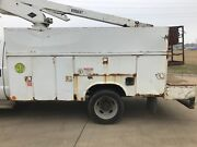 2000 Ford F550 Utility Body For 1 Ton Dually Reading For Parts Or Repair