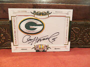 National Treasures Signature Patches Autograph Packers Paul Hornung 14/26 2008
