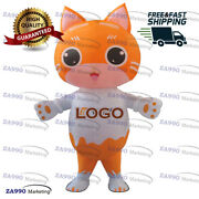 6.6ft Inflatable Cat Advertising For Animal Shop Promotion With Air Blower