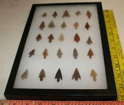 Authentic Saharan Neolithic Arrowheads Small 25 Pc Group 2