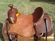 15.5 Spur Saddlery Ranch Roping Saddle Made In Texas