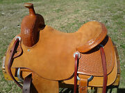 16 Spur Saddlery Ranch Cutting Saddle - Made In Texas - Cutter