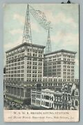 Wsmb Radio Station New Orleans Maison Blanche Department Store—antique 1920s