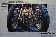 Kenny Roberts For Goodyear 2 Page Original Ad 1979