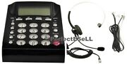 Call Center Dialpad Home Office Telephone With Dial Key Pad And Headset Wall Plug