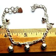 Sterling Silver Bracelets And Anklets - 5 Styles - .925 Pure Silver