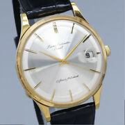 Orient Lucky Calendar 1960s 17 Jewels Manual Hand Wind Authentic Men Watch Works