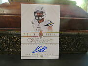 Panini Flawless Gold Autograph Chargers Auto Keenan Allen 01/10 2014