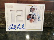 National Treasures Autograph Colossal Jersey Auto Rookie Andrew Luck 32/50 2012