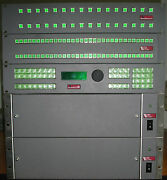 Sierra Video Systems 32x32 Sdi And 32x32 Digital Audio Routers With 7 Rem Panels