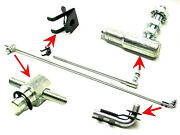 New 1961-1966 Ford Thunderbird Bell Crank And Accelerator Rod Assembly Kit