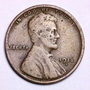 1911-s Lincoln Wheat Cent Penny Lowest Prices On The Bay Free Shipping