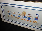 Disney Collectibles Cel Donald Through The Years