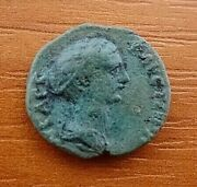 Provincial Coin Of Faustina Ii Wife Of Marcus Aurelius Of Philippopolis, Thrace.