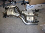 Genuine Bentley Continental Gt Gtc V8 Exhaust Tail Pipes Rear 3w3253609f G