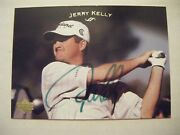 Jerry Kelly Signed 2003 Upper Deck Golf Card Auto Autographed Madison Wi 12 Ud