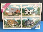 Ho 1/87 Scale Model Building Kit Patal 304 Cape-cod House Sealed