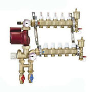 Caleffi Pre-assembled Fixed Point Manifold Mixing Station 8 Outlets Thermos...