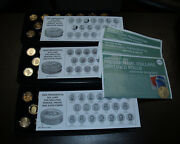 3 Sets Of 20 Presidential Dollars Uncirculated 2007, 08, 09 P And D, Proof, Satin