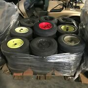 Industrial Tires Pneumatic And Solid Rubber Wheels 4.80/4.00-8